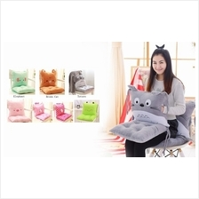 5 in 1 Cartoon-Themed Separable back + Seat Cushion + Blanket + Hand W