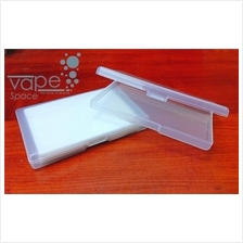 Convenient cover storage case for cotton / coil, vape