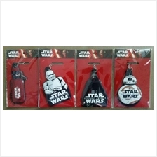 Subway Full Set Star Wars Force Awaken Keychain REY BB8 Kylo Storm