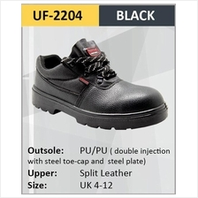 Hercules Girl Men Safety Shoes Steel Shoes Sizes 3-12 SKU-2204