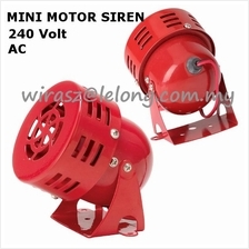 12V DC Mini Motor Siren LOUD Horn SOUND Security alarm system DIY