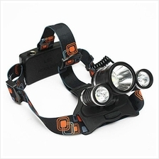 6000LM 3x LED XM-L2 T6 Headlamp Headlight Head Light Torch Flashlight