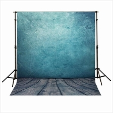 5x7FT Blue Studio Vinyl Cloth Photo Backdrops Photography Background