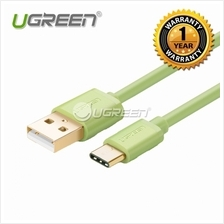 UGREEN USB 2.0 Type A Male to USB 3.1 Type-C Male Charge  & Sync Cable - Green