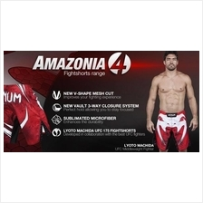 Venum UFC MMA Red AMAZONIA short Pant (Gym Fitness Sport SELUAR) RM70