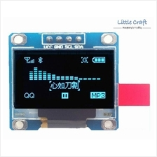 I2C Graphic OLED Display 128x64 Blue Color for Arduino