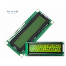 Character LCD Display 1602 Yellow Blacklight for Arduino