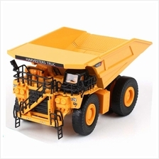Kaidiwei 1:75 Die Cast Mining Truck Yellow Color Metal Model Collection New Gi
