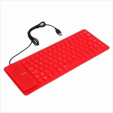Usb & PS2 PLUG Flexible Silicone  Waterproof Keyboard