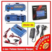 IMAX B6 80W Upgrade Fast Balance Charger Discharger 1-6 Cells +Adapter