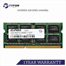 Mix Branded SODIMM 2GB DDR3 1066MHZ PC3-8500 Laptop RAM (Used)