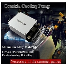 USB Mini Laptop Exhaust Fan Cooler Cooling Pad classical silver