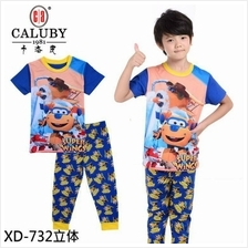 [Caluby] Super Wings Kids / Childrens Sleep Wear for ages 2-7 Yrs)