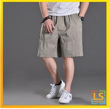 Plus Size for Men Knee Length Casual Short Pants