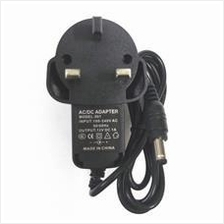 3pin Wall AC Power Adapter Charger DC 12V 1A