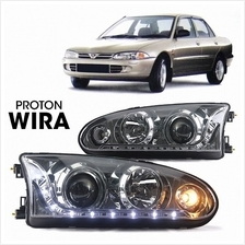 Eagle Eye Wira (R8) Projector Headlamp+Lower Lamp (Chrome).