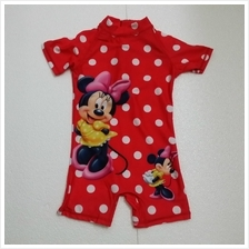 Kids SwimSuit / Swim Wear for Ages 3Y-12Y (Minnie)