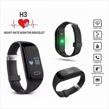 H3 Heart Rate Monitor Sleep Fitness Tracker Smart Watch