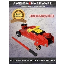BOSSMAN HEAVY DUTY 2TON FLOOR JACK HYDRAULIC JACK WITH BOX