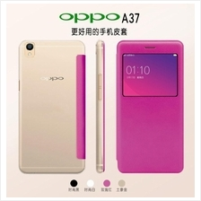 Oppo Neo 7 A33 Neo 9 A37 R9 F1 Plus Sview Window Flip Case Cover