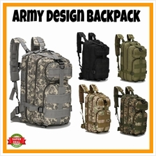 25L Military Army Tactical Camping Hiking Backpack Bag Army Bag Work