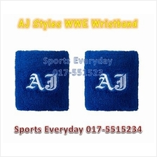 WWE WWF Arms Bands & Wristbands AJ Styles P1 WRESTLING GUSTI