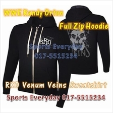WWE WWF Hoodies Shirts Randy Orton RKO Full Zip WRESTLING BAJU GUSTI