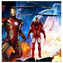 [ Avengers ] Iron Man Hand Induction Flying RC Toy