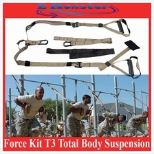 Not TRX Force Kit T3 Total Body Suspension Training Straps Fitness