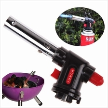 Portable Outdoor Camping Gas Torch Flamethrower Burner Butane Gas Blow