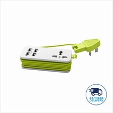 (Genuine) Pineng PN-333 Power Extension Socket With 4Port USB 5.1A