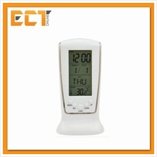 LED Backlight Calendar Alarm Square Clock 510