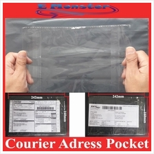 Consignment Note Pocket for Parcel Flyer Courier Plastic Bag 100 Sheet