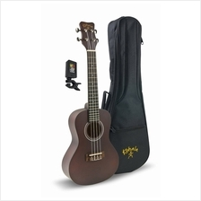 Kohala KPP-C Concert Ukulele Player Pack Natural (Free Bag  & Tuner)