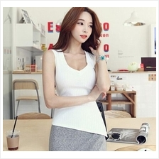 AT7178 Fashion Stylish Sleeveless Top ( 2 Colors )