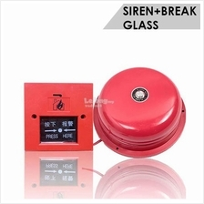 Fire Alarm Bell & Emergency Button