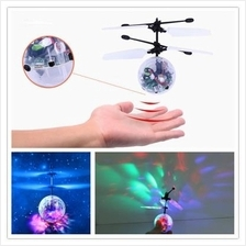 1pcs RC Helicopter Infrared Induction Aircraft Flying LED Glow Ball