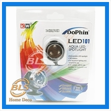 DOPHIN LED101 AQUA LED SPOTLIGHT SUBMERSIBLE AQUARIUM FOUNTAIN LIGHTIN