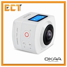 OKAA 360° 1440P 30fps Panoramic Virtual Reality VR Sport Action Camera