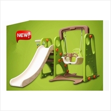 New Design Safety 3 in 1 Kids Playground (Slide, Swing, Basketball )