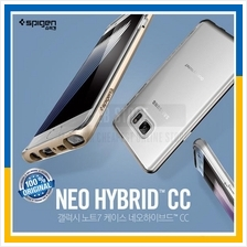 Original Spigen Galaxy Note 7 Neo Hybrid Crystal Clear Back Case Cover
