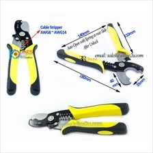 Multifunction Multi purpose cable stripper Cutter Coaxial cable LMR 300/400 RG