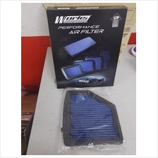 Works Engineering Washable Dropin Air Filter USA Honda HRV Vezel