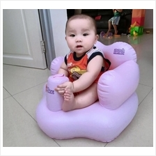 Inflatable Baby Multifunction Air Seat Sofa Built In Pump ~Ready Stock