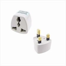 Universal UK 3 Pin Travel Plug Socket Adapter Adaptor ~ 5pcs Per Pack