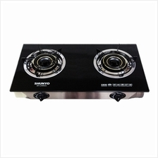Shunyo SH-208GC Double Burner Glass Gas Stove