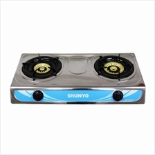 Shunyo SH-1012GC Double Burner Gas Cooker