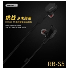 REMAX S5 Unique Magnet Headset Wireless Sports Bluetooth 4.1 Earphone