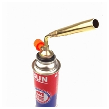 Copper Gas Torch Butane Burner Auto Ignition Camping Flamethrower