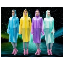 Raincoats Travel Mountaineer Thicken Disposable Poncho Transparent